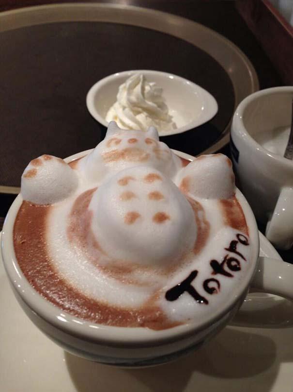 Υπέροχη τέχνη σε καφέ (11)
