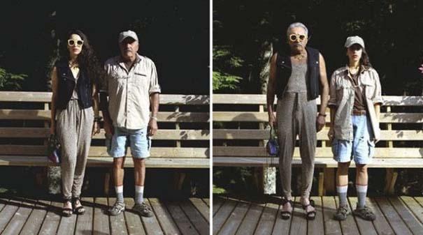 Ζευγάρια φωτογραφίζονται ανταλλάσσοντας τα ρούχα τους (1)