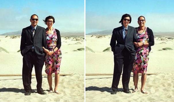 Ζευγάρια φωτογραφίζονται ανταλλάσσοντας τα ρούχα τους (10)