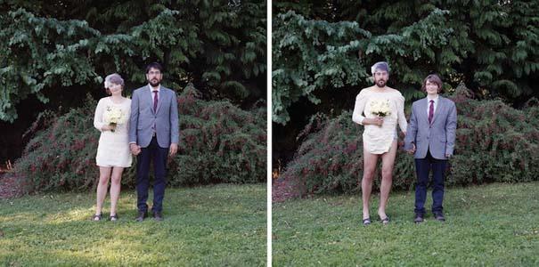Ζευγάρια φωτογραφίζονται ανταλλάσσοντας τα ρούχα τους (14)