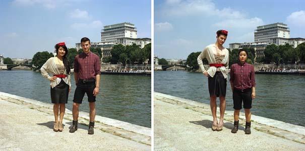 Ζευγάρια φωτογραφίζονται ανταλλάσσοντας τα ρούχα τους (16)