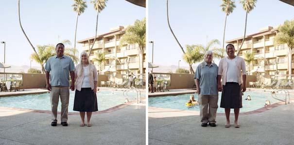 Ζευγάρια φωτογραφίζονται ανταλλάσσοντας τα ρούχα τους (17)