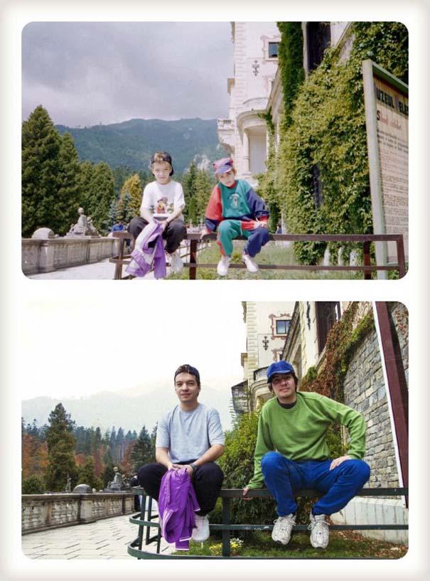 20 χρόνια μετά: Δυο αδέρφια δημιουργούν εκ νέου τις παιδικές τους φωτογραφίες (3)