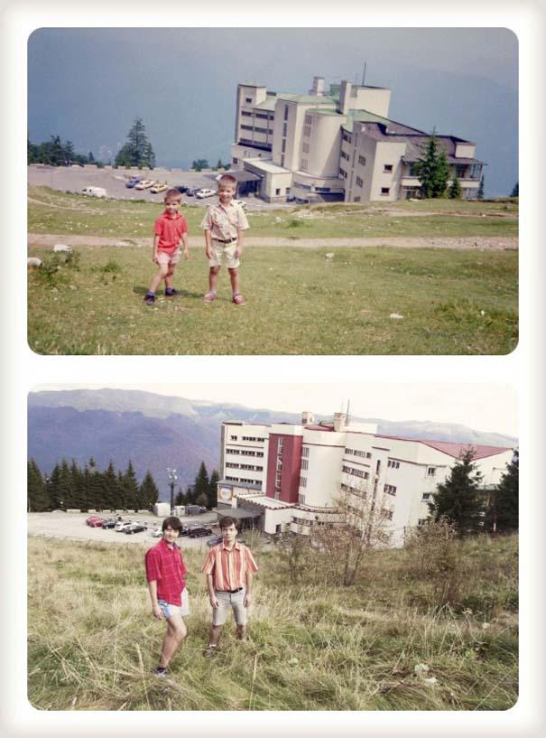 20 χρόνια μετά: Δυο αδέρφια δημιουργούν εκ νέου τις παιδικές τους φωτογραφίες (5)