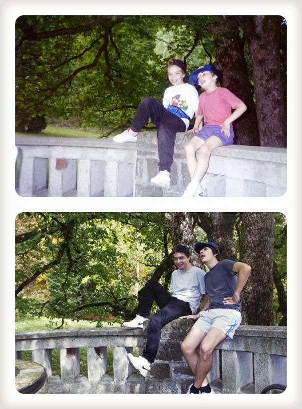 20 χρόνια μετά: Δυο αδέρφια δημιουργούν εκ νέου τις παιδικές τους φωτογραφίες (6)