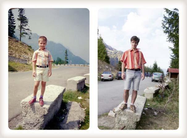 20 χρόνια μετά: Δυο αδέρφια δημιουργούν εκ νέου τις παιδικές τους φωτογραφίες (10)