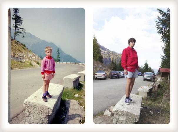 20 χρόνια μετά: Δυο αδέρφια δημιουργούν εκ νέου τις παιδικές τους φωτογραφίες (12)