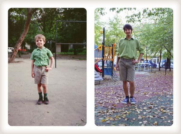 20 χρόνια μετά: Δυο αδέρφια δημιουργούν εκ νέου τις παιδικές τους φωτογραφίες (14)
