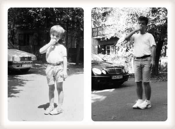 20 χρόνια μετά: Δυο αδέρφια δημιουργούν εκ νέου τις παιδικές τους φωτογραφίες (15)