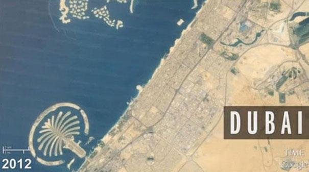 Οι αλλαγές της Γης μέσα σε 28 χρόνια όπως φαίνονται από το διάστημα