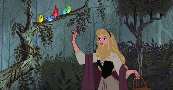 Αν οι πριγκίπισσες της Disney είχαν μούσια (2)