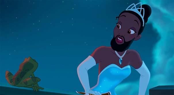 Αν οι πριγκίπισσες της Disney είχαν μούσια (8)