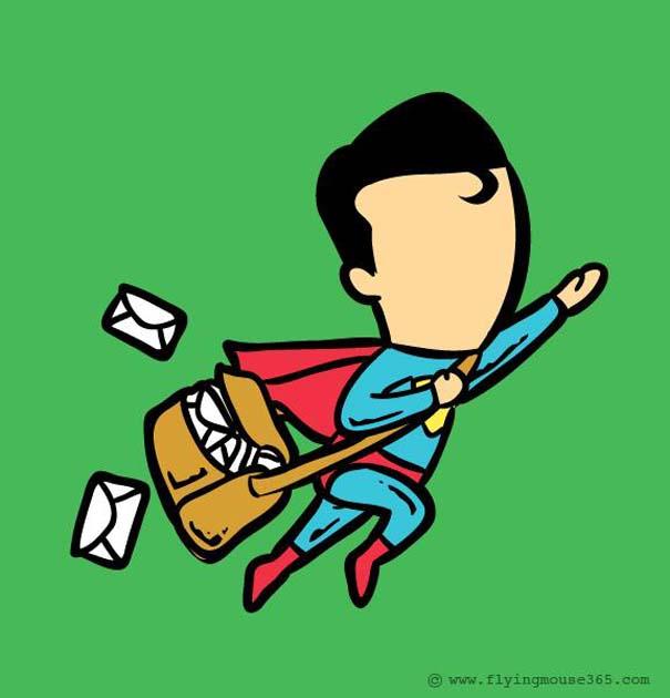 Αν οι σούπερ ήρωες είχαν κανονικές δουλειές (3)