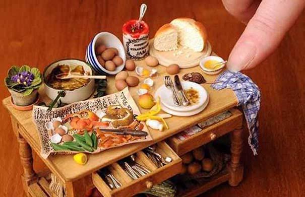 Απίστευτες μινιατούρες φαγητών (1)