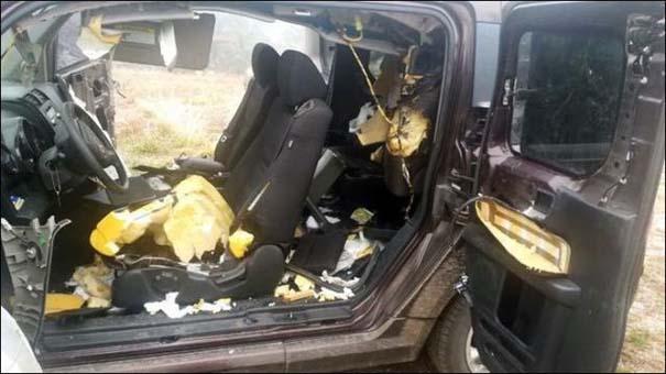Αυτοκίνητο μετά την επιδρομή αρκούδων (6)