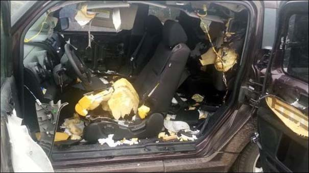 Αυτοκίνητο μετά την επιδρομή αρκούδων (9)