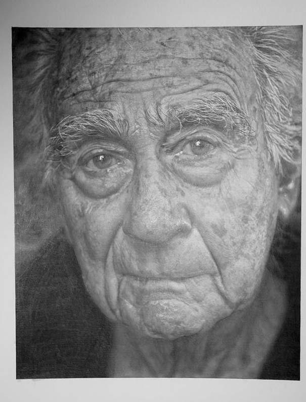 Δεν θα πιστεύετε πως πρόκειται για ζωγραφιές με μολύβι και όχι για φωτογραφίες (14)