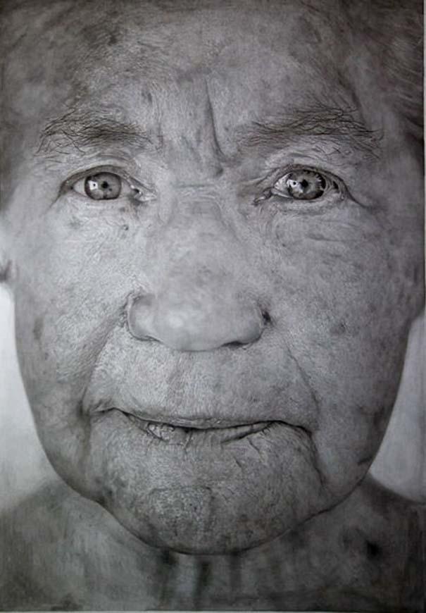 Δεν θα πιστεύετε πως πρόκειται για ζωγραφιές με μολύβι και όχι για φωτογραφίες (26)