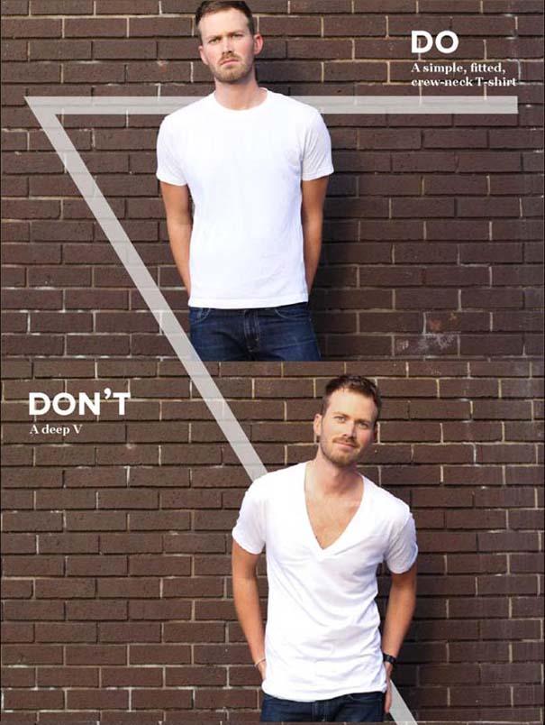Τα «Dos» & «Don'ts» και τα «προς Θεού μη» της ανδρικής μόδας (5)