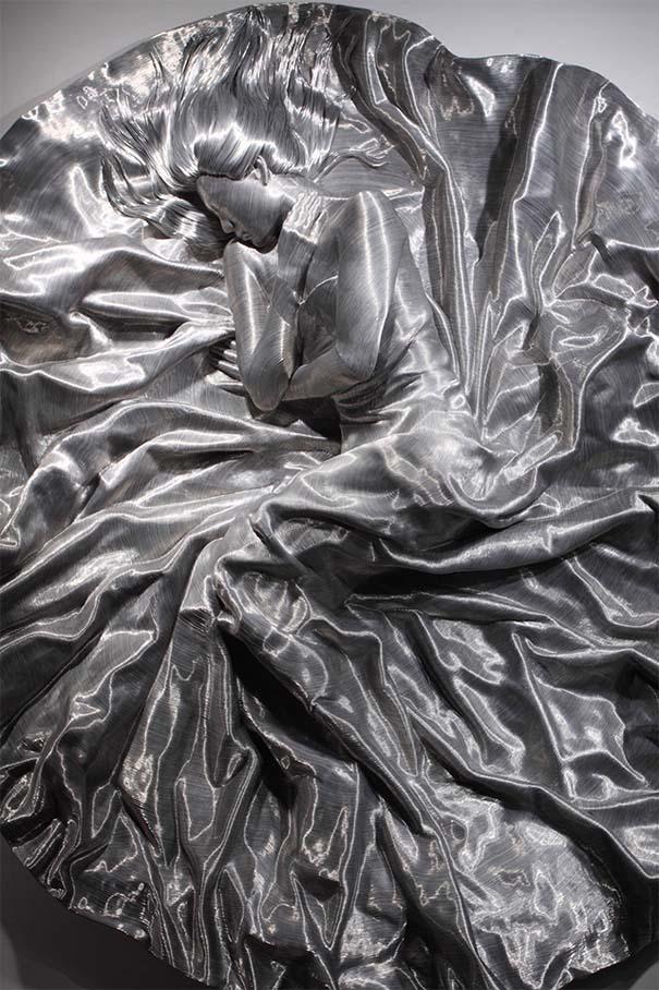 Εκπληκτικά γλυπτά από σύρμα αλουμινίου (3)