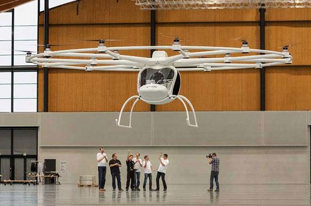 Ελικόπτερο με 18 έλικες