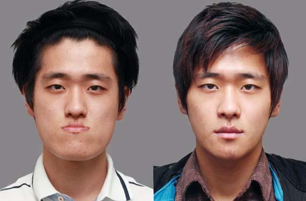 Απίστευτες φωτογραφίες Κορεατών πριν και μετά την πλαστική (29)
