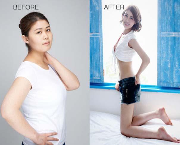 Απίστευτες φωτογραφίες Κορεατών πριν και μετά την πλαστική (44)