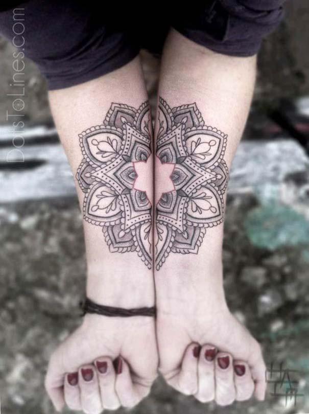 Γεωμετρικά τατουάζ από τον Chaim Machlev (3)
