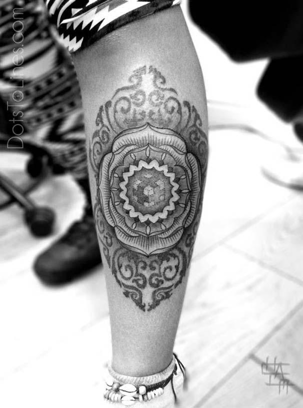 Γεωμετρικά τατουάζ από τον Chaim Machlev (6)