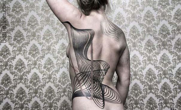 Γεωμετρικά τατουάζ από τον Chaim Machlev (11)