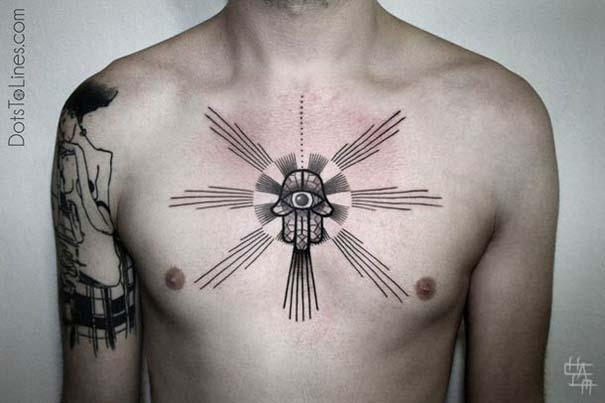 Γεωμετρικά τατουάζ από τον Chaim Machlev (16)
