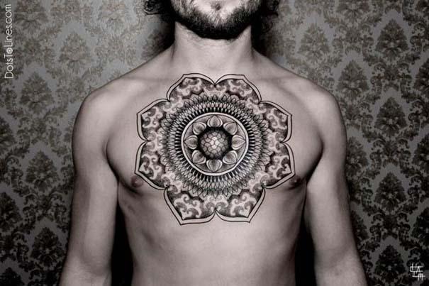 Γεωμετρικά τατουάζ από τον Chaim Machlev (19)