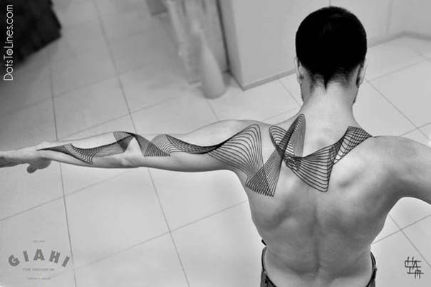 Γεωμετρικά τατουάζ από τον Chaim Machlev (23)