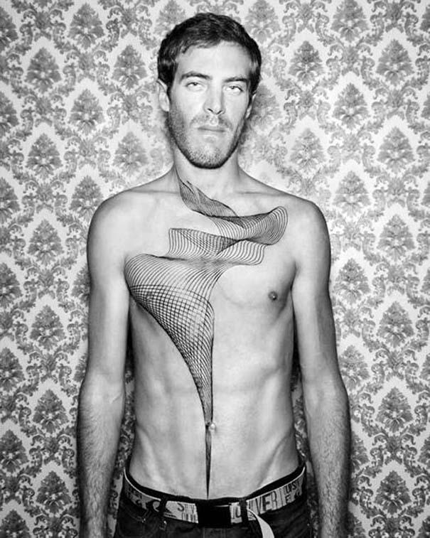 Γεωμετρικά τατουάζ από τον Chaim Machlev (24)