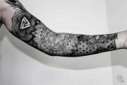 Γεωμετρικά τατουάζ από τον Chaim Machlev (28)