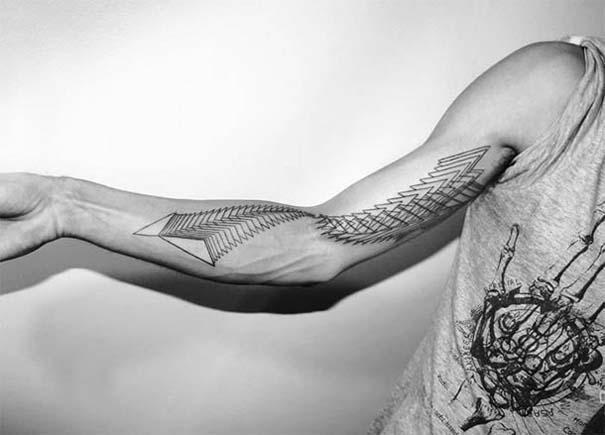 Γεωμετρικά τατουάζ από τον Chaim Machlev (30)