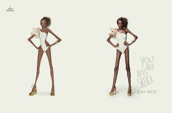 Έτσι θα ήταν οι γυναίκες αν έμοιαζαν με τα σχέδια των σχεδιαστών μόδας (1)
