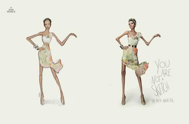 Έτσι θα ήταν οι γυναίκες αν έμοιαζαν με τα σχέδια των σχεδιαστών μόδας (3)