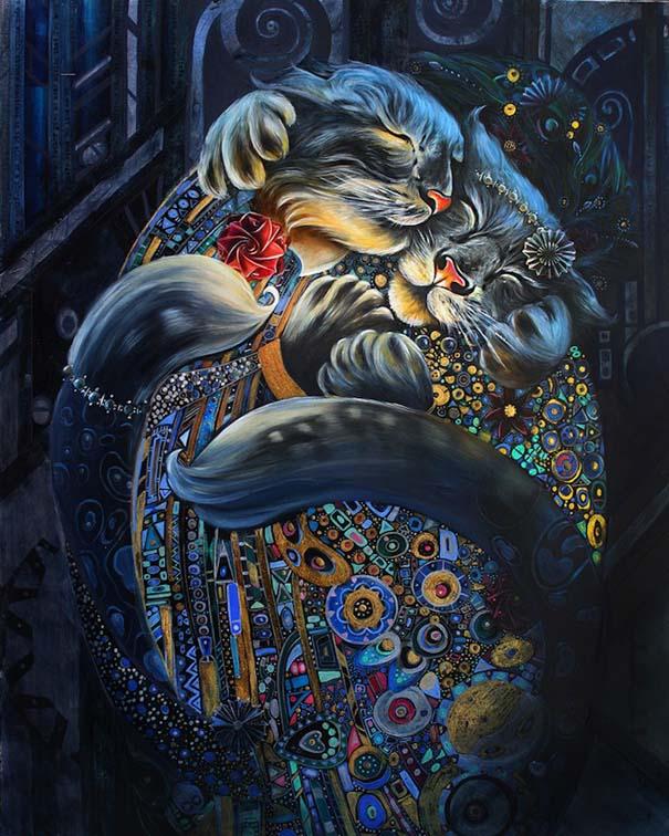Ιστορικές φιγούρες αντικαθιστώνται από γάτες και σκύλους (6)