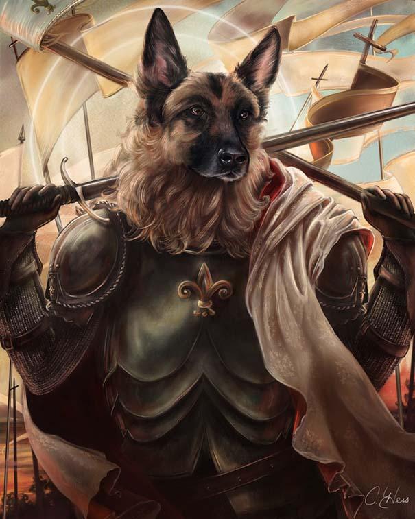 Ιστορικές φιγούρες αντικαθιστώνται από γάτες και σκύλους (10)