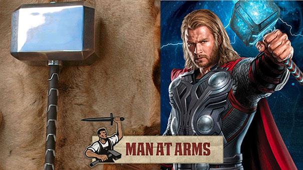 Κατασκευάζοντας το σφυρί του Thor