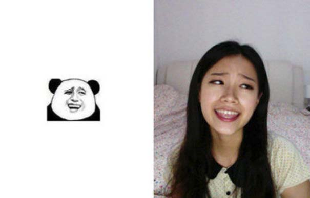 Ένα κορίτσι που μπορεί να κάνει όλες τις γκριμάτσες του Internet (16)