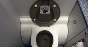Κρυμμένος θησαυρός σε τουαλέτα αεροπλάνου