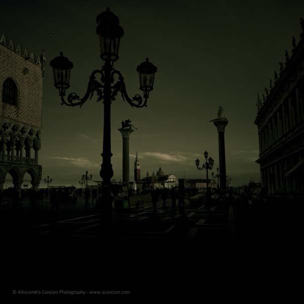 Μυστηριώδεις φωτογραφίες της Βενετίας στο σκοτάδι (4)
