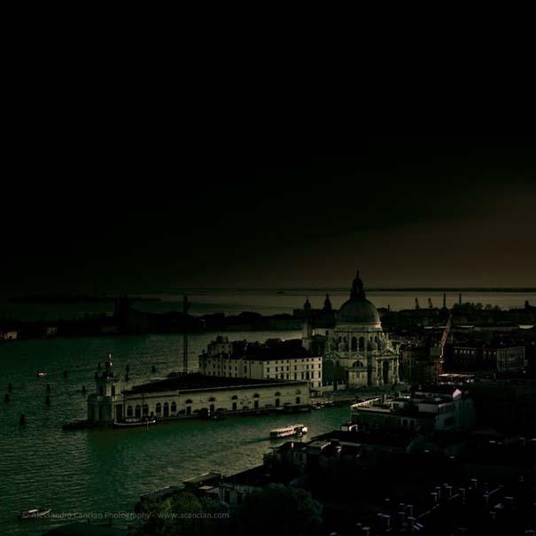 Μυστηριώδεις φωτογραφίες της Βενετίας στο σκοτάδι (6)
