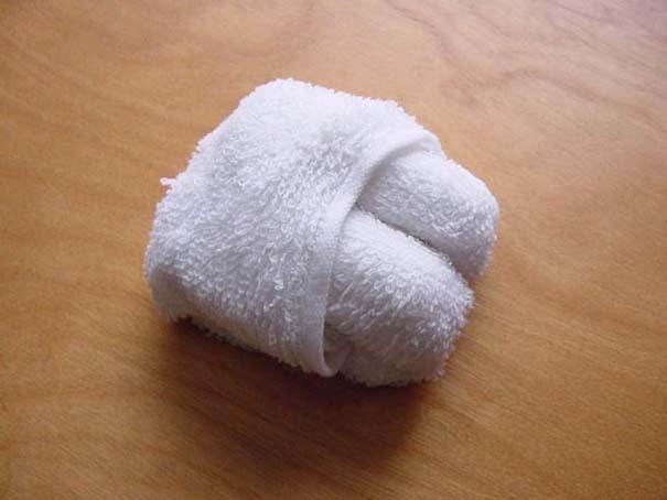 Oshibori: Γιαπωνέζικη τέχνη με διπλωμένες πετσέτες (3)