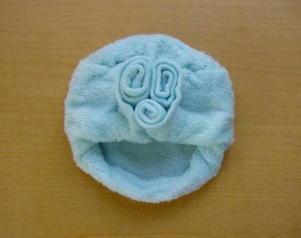 Oshibori: Γιαπωνέζικη τέχνη με διπλωμένες πετσέτες (8)