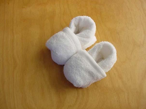 Oshibori: Γιαπωνέζικη τέχνη με διπλωμένες πετσέτες (12)
