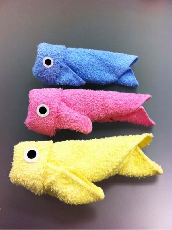 Oshibori: Γιαπωνέζικη τέχνη με διπλωμένες πετσέτες (14)