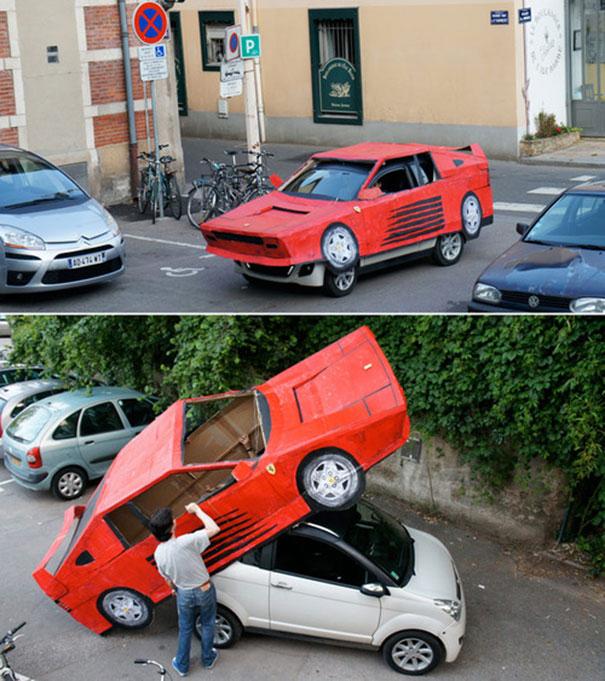 Ο φθηνότερος τρόπος να αποκτήσεις μια Ferrari   Φωτογραφία της ημέρας